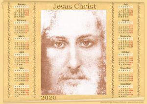 Jesus Christ calendar